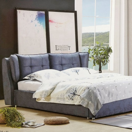 卧室双人床北欧轻奢软床725