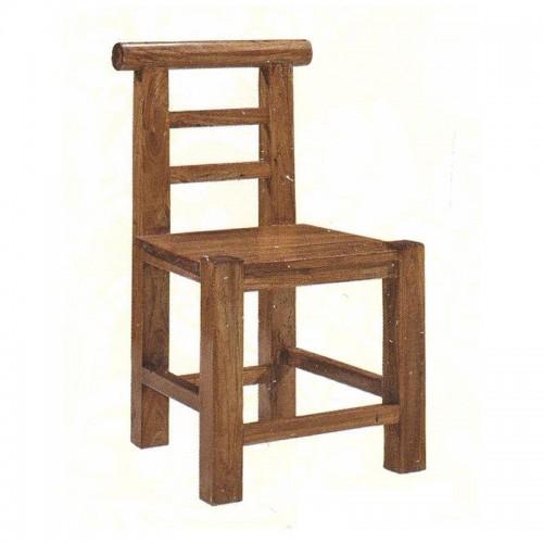 实木靠背椅仿古现代餐椅58