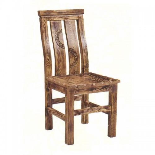 中式简约实木靠背餐椅59