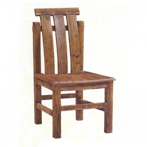 仿古中式简约实木餐椅60