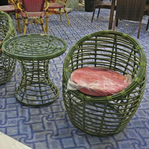 鸟巢藤椅子茶几三件套装04