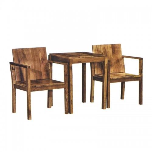 松木正方形餐桌餐椅03
