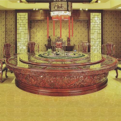 酒店家具大型宴会餐桌餐椅26