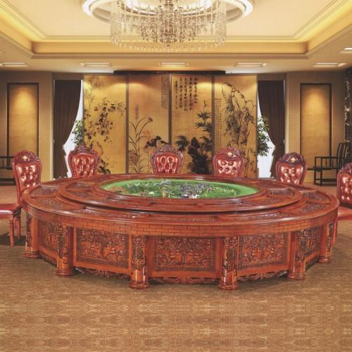 质朴家具豪华宴会桌28