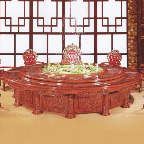 豪华中式餐桌32