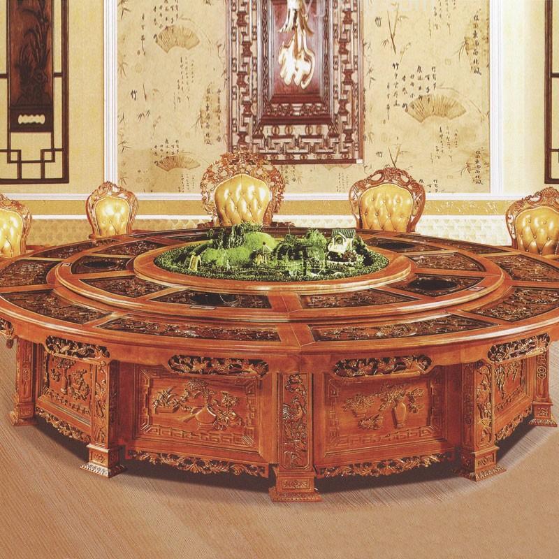 豪华电动宴会桌39