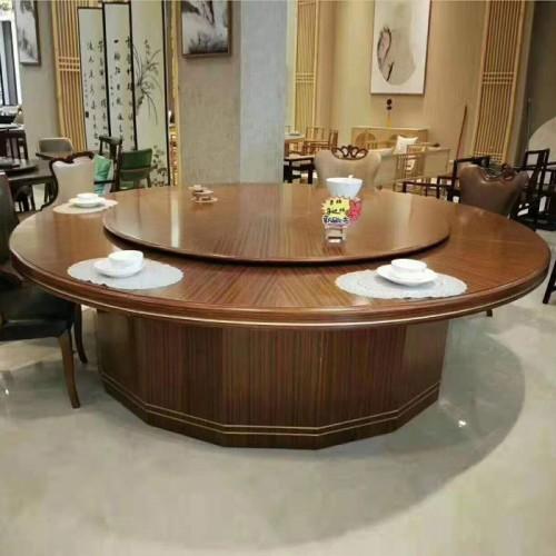 酒店电动餐桌大圆桌 201