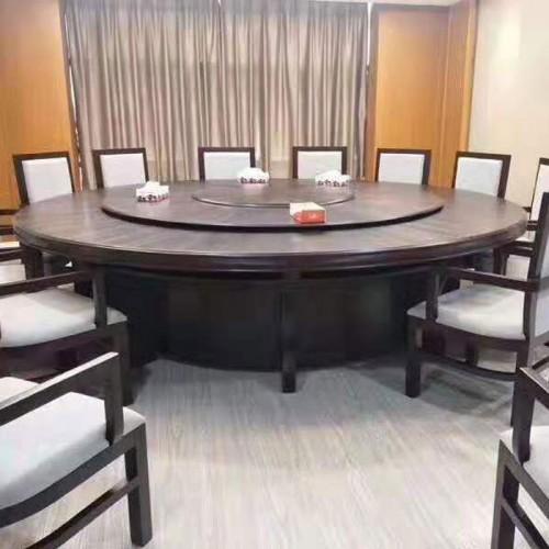 新中式酒店电动餐桌 203