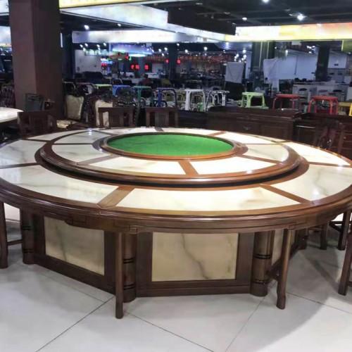电动餐桌酒店圆桌206