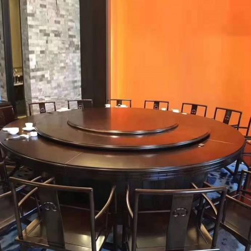 酒店中式电动餐桌215
