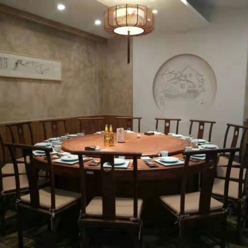 酒店中式电动餐桌216