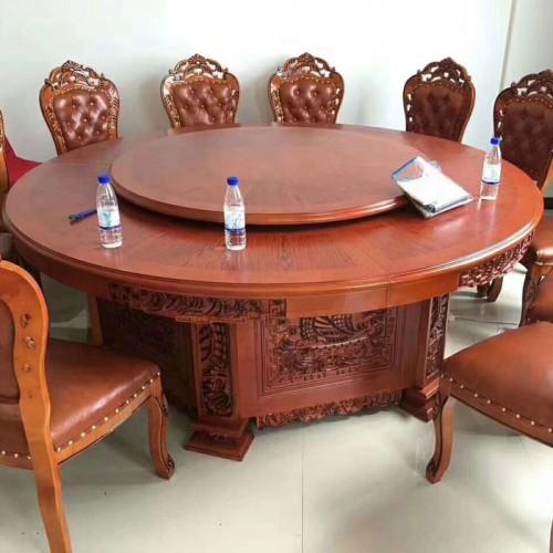 古典明清电动圆餐桌219