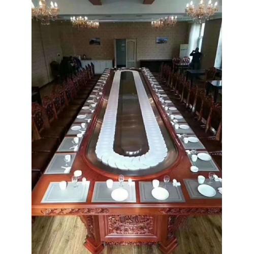 高档酒店电动餐桌224