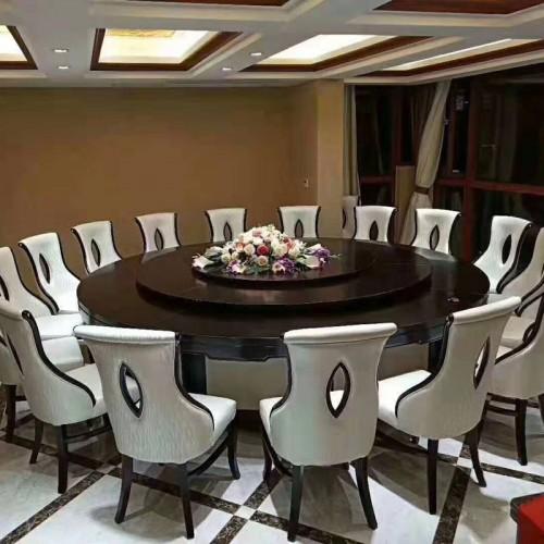 新中式酒店餐厅桌椅109