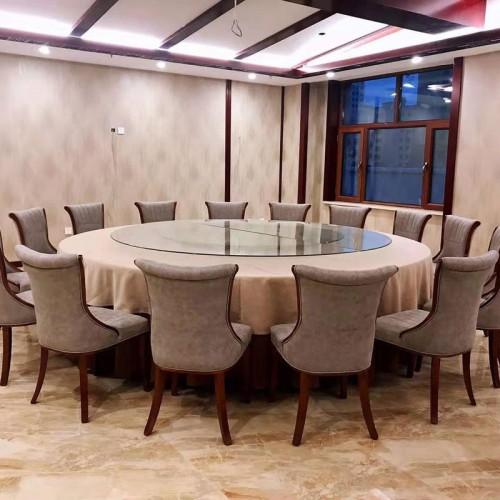 新款大圆餐桌椅110