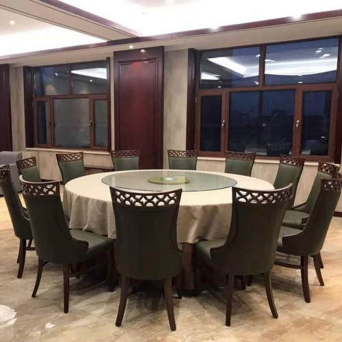 酒店包厢中式餐桌椅111