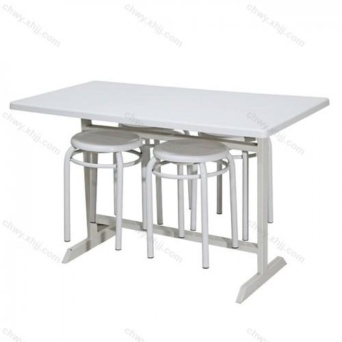 快餐店面馆餐桌椅04