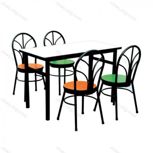 烧烤小吃店餐桌椅05