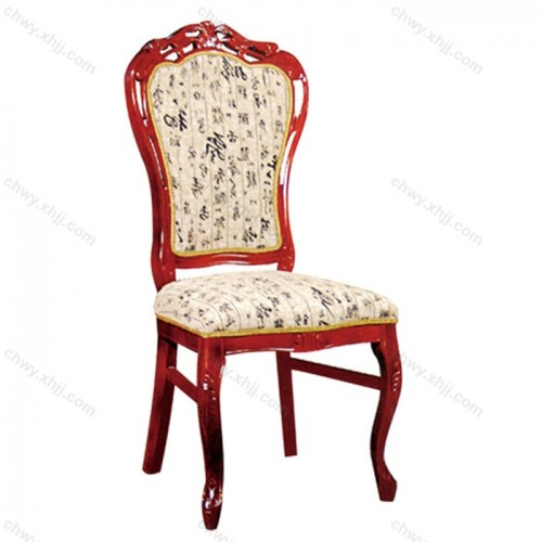 酒店包房软包餐椅04