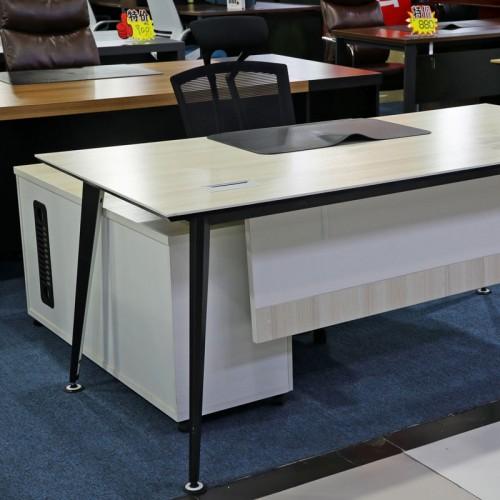 板式现代老板桌经理台04
