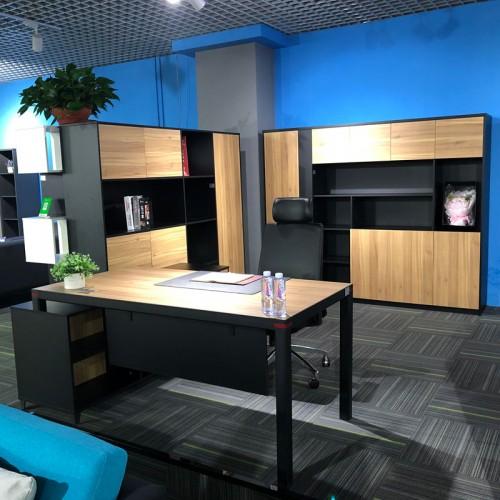 板式现代经理办公桌台05