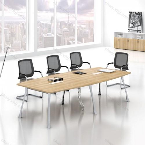 钢架长条桌会议桌15