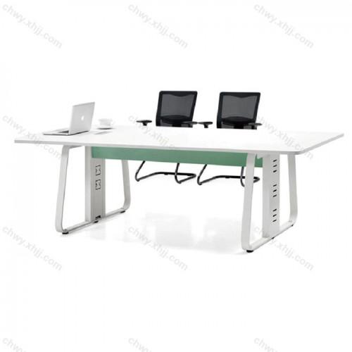 简约大方屏风办公桌16