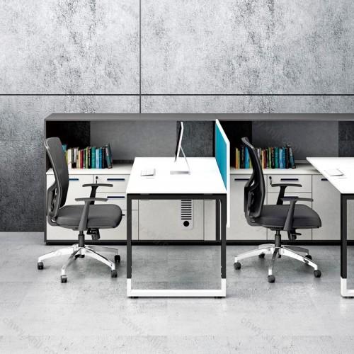 办公桌椅组合 屏风工位27