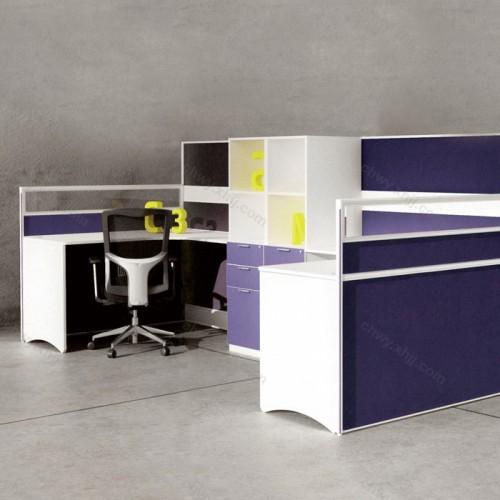 简约现代办公家具  屏风工作位34