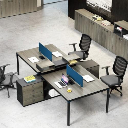 员工办公桌椅组合35