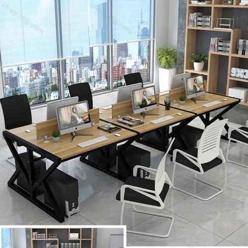 办公家具员工 办公桌椅组合37