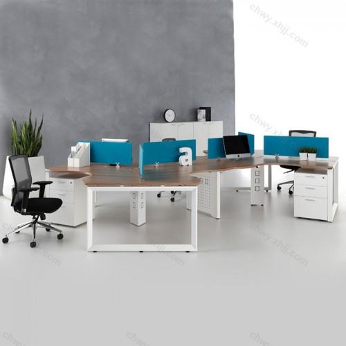 四人位卡座  现代简约办公桌51