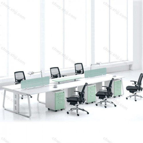 卡座现代简约办公桌55