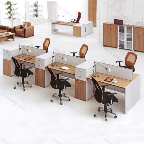 办公家具职员 办公桌椅组合56