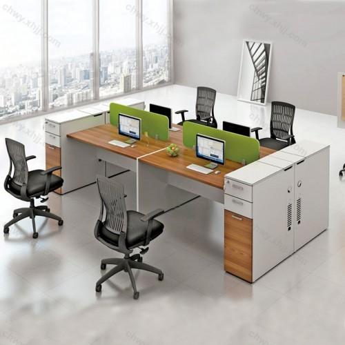 屏风工作位员工 电脑办公桌57