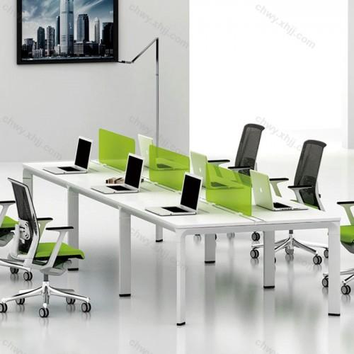 屏风工作位员工电脑办公桌59