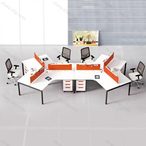 职员办公桌椅 屏风工作位64