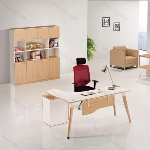 办公桌简约 现代老板桌26