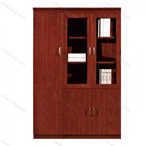 木质油漆书柜09
