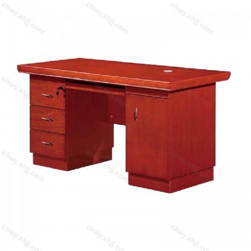油漆实木 贴皮办公桌 06