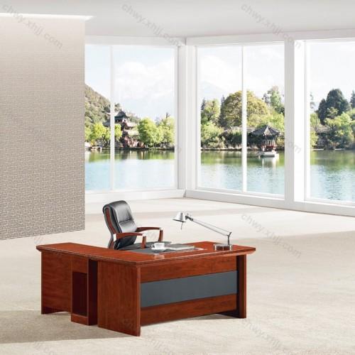 大班台办公桌油漆办公桌28