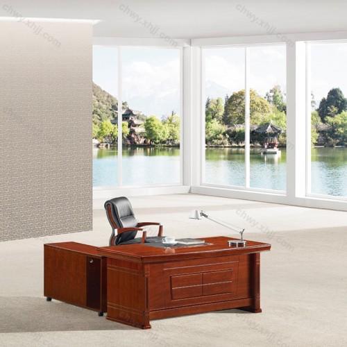 实木贴皮经理桌29