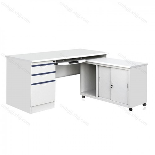 带抽屉电脑桌  员工写