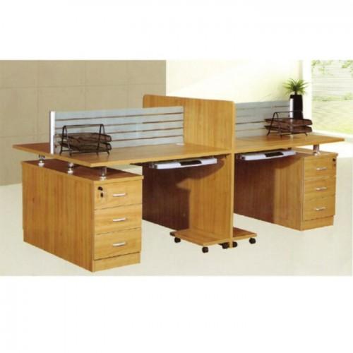 办公区板式屏风职员桌