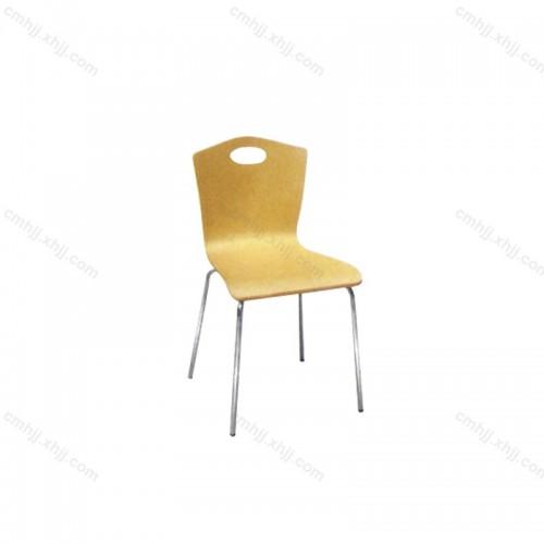 不锈钢快餐椅 01