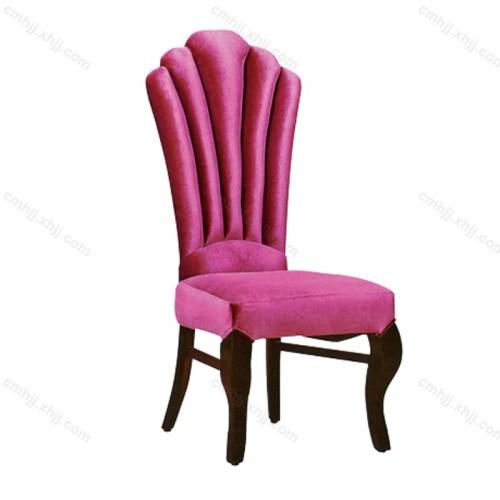 欧式餐厅高档布艺餐椅F-050