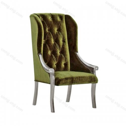 咖啡厅布艺餐椅F-027