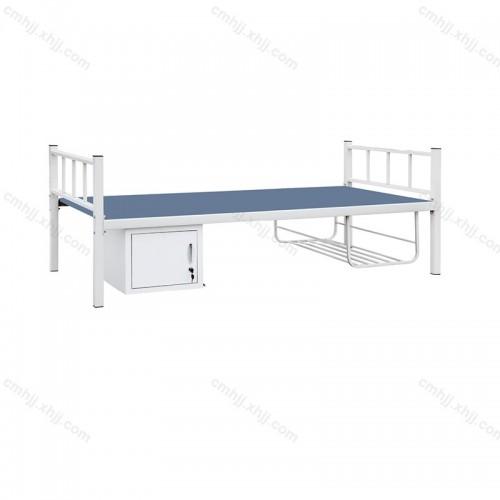 不锈钢单人床带鞋柜HC-06
