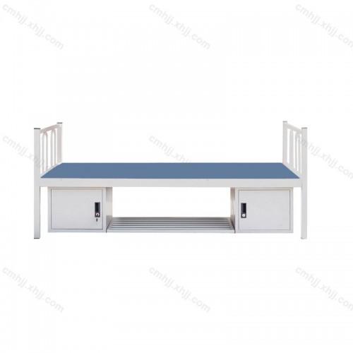 钢制单人床带储物柜HC-04