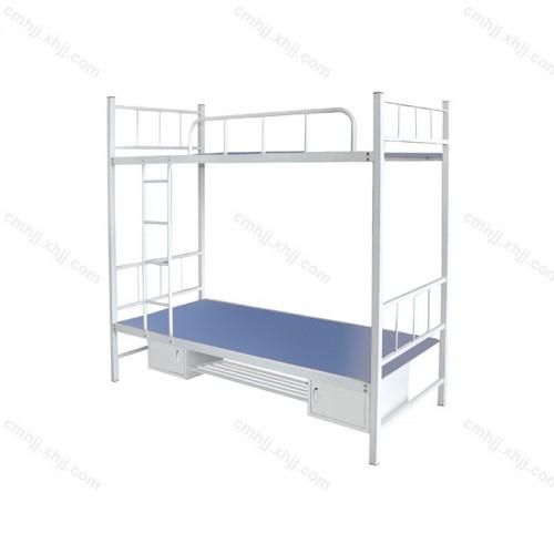 上下铺铁床员工宿舍双层床01